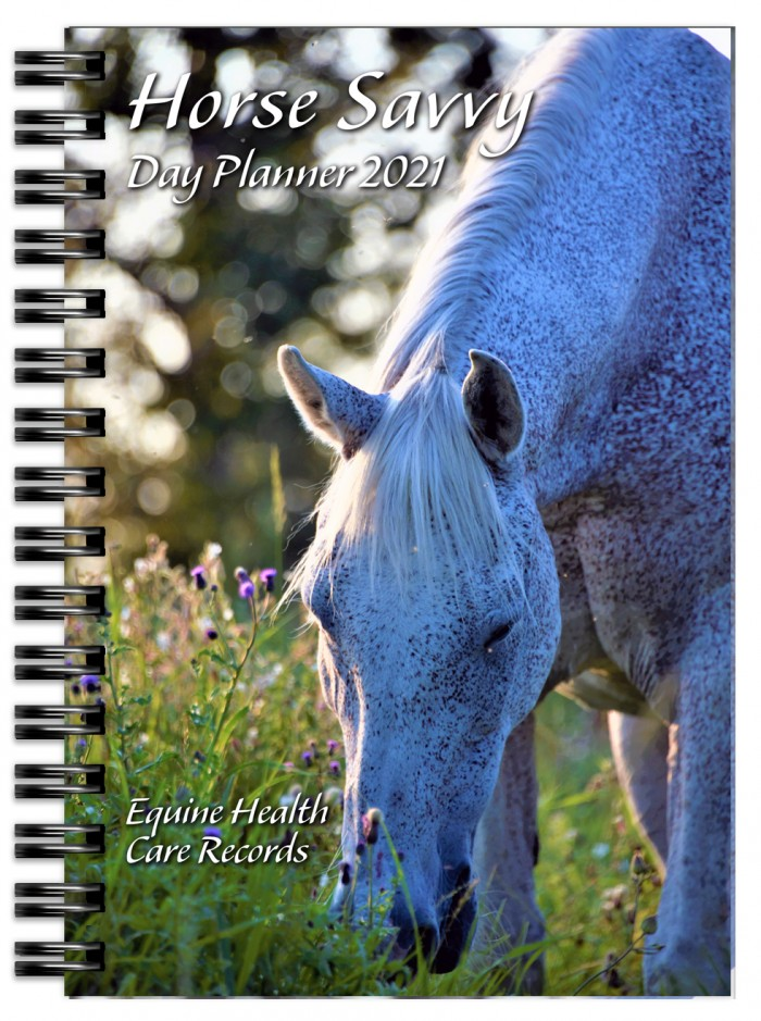 Horse Savvy Day Planner Cover Image for 2021