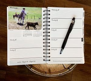 2021 Horse Savvy Calendar Weekly Spread